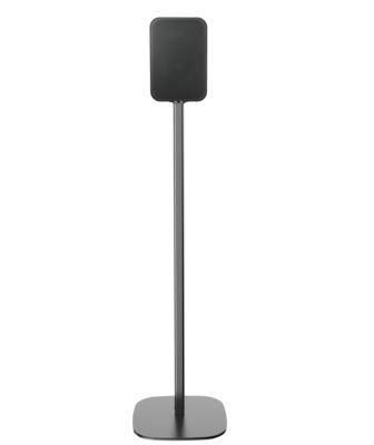 Cavus zwarte vloerstandaard voor Bluesound Pulse Flex