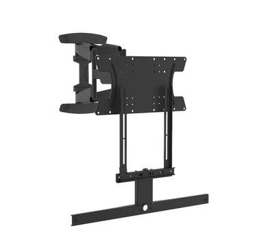 Cavus draaibare muursteun voor 37 - 65 Inch TV en zwarte Sonos ARC