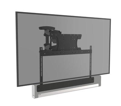 Cavus draaibare muursteun voor 37 - 65 Inch TV en Sonos Playbar