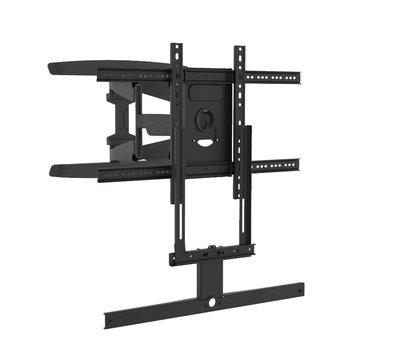 Cavus draaibare muursteun met zwart frame voor Sonos ARC frame
