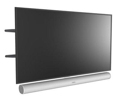 Cavus draaibare muursteun met wit frame voor Sonos ARC frame