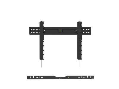 Cavus vaste muursteun voor 37 - 70 Inch TV en zwarte Sonos ARC