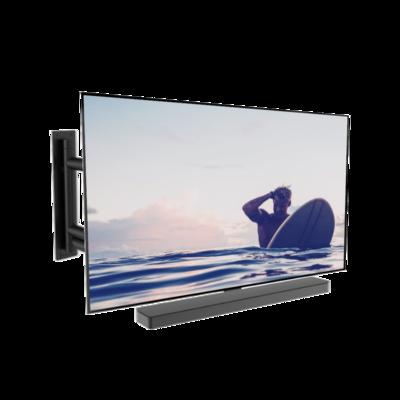 Cavus Premium draaibare muurbeugel met Bose Soundbar 500 frame