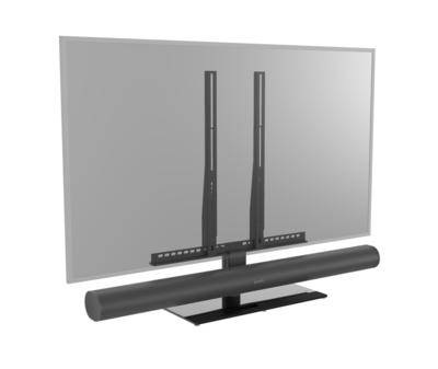 Cavus module voor Sonos ARC op Cavus tafelstandaard
