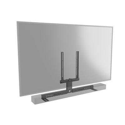 Cavus zwart frame voor soundbar universeel met centrale kolom