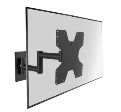 Cavus zwarte muursteun voor 26 - 37 inch TV