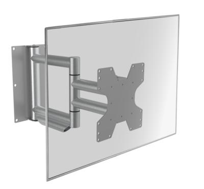 Cavus aluminium design muursteun voor 26 - 55 inch TV