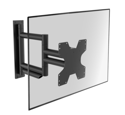Cavus zwarte design muursteun voor 26 - 55 inch TV