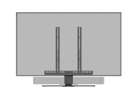 Cavus draaibare TV tafelstandaard met Sonos Beam frame voor 32 - 42 inch TV