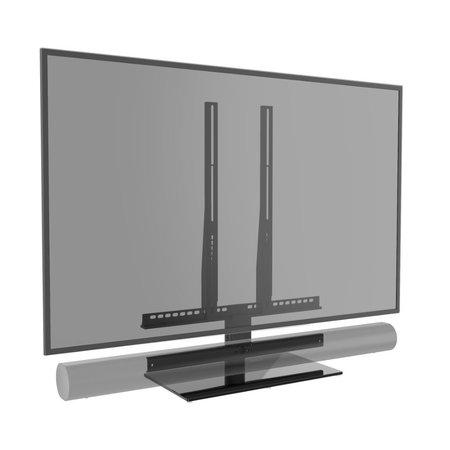 Cavus draaibare TV tafelstandaard met Sonos ARC frame voor 42 - 60 inch TV